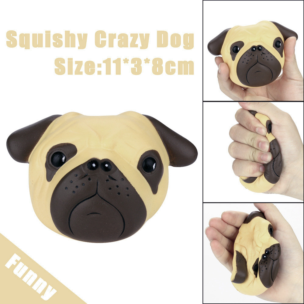 Exquisite Fun Crazy Dog Scented Charm Slow Rising 8cm Simulation Kid Toy Children Fun Playing Game Toy Baby Boy Girl Toys