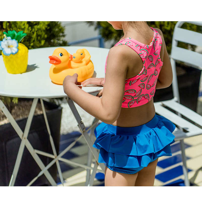 2019 New Style CHILDREN'S Swimwear Girls Split Type Watermelon CHILDREN'S Bikini Small CHILDREN'S Ying Er Qun-Baby Swimwear