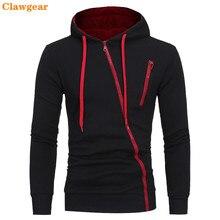 2019 New Clawgear  Hoodies Men Autumn Casual Long Sleeve Hoodie Sweatshirts Slim Zipper Hoody Sweatshirt Hooded