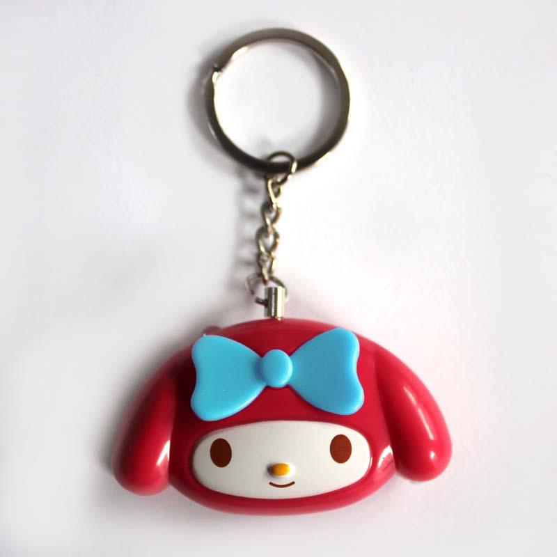 Mini Self Defense Keychain Alarm Super Loud Personal Security Anti-Attack Emergency Keyring OUJ99