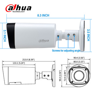 Image 4 - DAHUA 4MP Đêm Camera DH IPC HFW4431R Z 2.7 12mm cơ giới VF Ống kính 80 M tầm nhìn Ban Đêm POE viên đạn Mạng camera an ninh