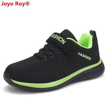 2019 autumn fly woven mesh children's running shoes girls shoes lightweight sneakers boys shoes kids loafers shoes 28-39 1