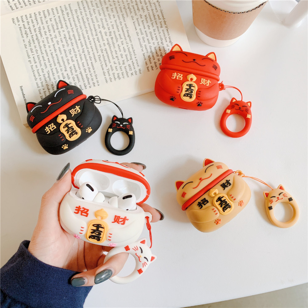 Lucky Cat Pro Case for AirPods Pro