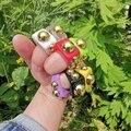 Красота слой Новая Мода Гипербола кольца Карамельный цвет Необычные выступы смолы с сердцем на палец, кольца для женщин, ювелирные изделия ...