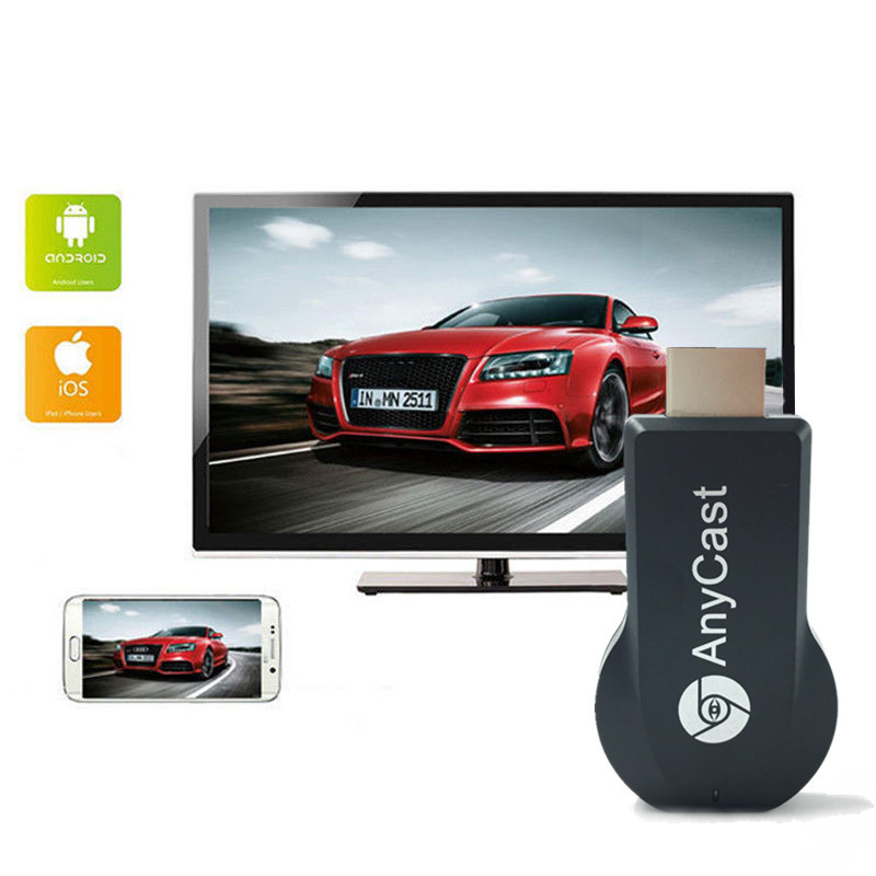 M2 Plus TV Stick Wifi Display Receiver For Chromecast DLNA Miracast Airplay Airmirror HDMI Adapter Android IOS Mirascreen Dongle