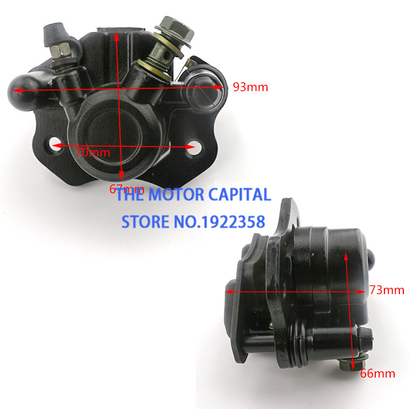 Front-Rear-Caliper Go-Kart 125CC Hydraulic-Brake QUAD 110CC ATV 50cc-70cc-90cc Good-Quality title=
