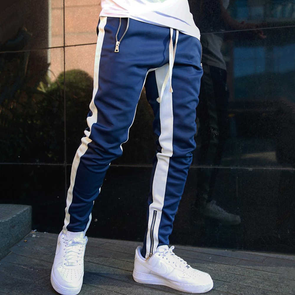 Running Sports Pants Men Trackpants Jogger Sweatpants Gym Training Slim Trousers Male Fitness Outdoor Jogging Workout Sportswear