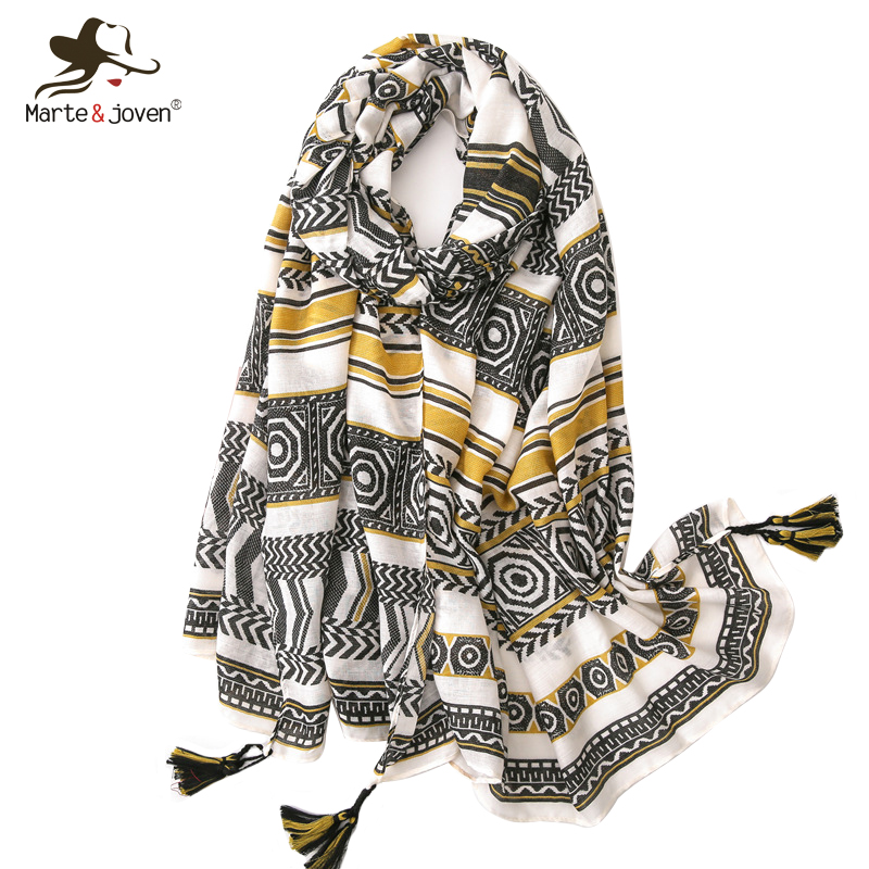 Ladies Womens Light Weight Summer Scarf Printed Owl Design 2 Colours