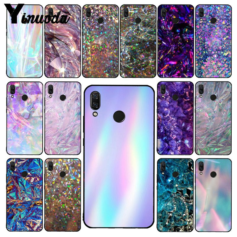 Yinuoda Crystal Diamond Aesthetic Art Pastel Phone Case For Xiaomi Redmi Note 7 5 4 Redmi 5plus 6A Note8 4X Note8Pro