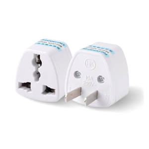 UKUSEU Universal to AU AUS Australian Power Plug Adapter 3 pin Converter Small and lightweight design easy to carry and use