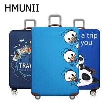 HMUNII эластичный Чехол для багажа с животными, чехол Чехол для костюма, аксессуары для путешествий для багажа 18-32 дюймов, пылезащитный чехол для багажника на колесиках