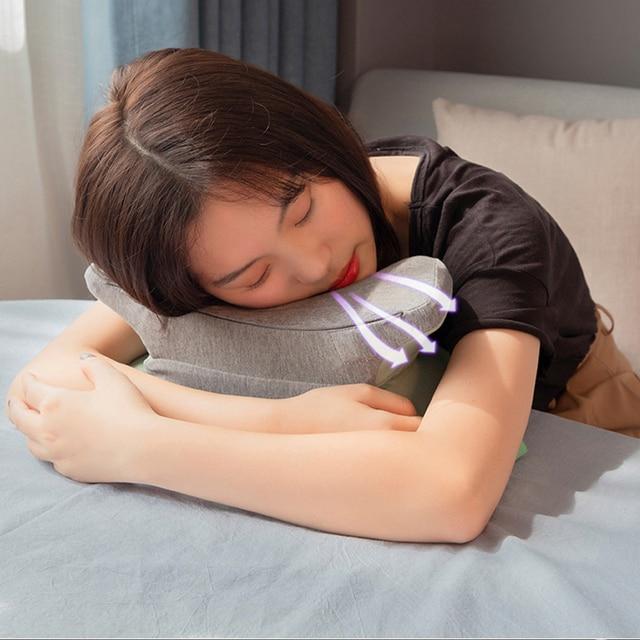 Фото подушка для сна дорожный подголовник талии поддержка подушка цена