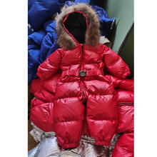 Детский комбинезон серебристые и золотистые зимние пальто детская