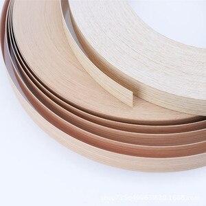 Image 3 - 10M Self adhesive Möbel Holz Furnier Dekorative Rand Banding PVC für Möbel Schrank Büro Tisch Holz Oberfläche Kanten
