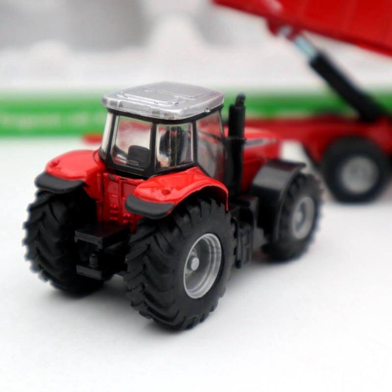 Siku Farmer 1:87 Massey Ferguson mit Anhänger Traktor NEU  1844