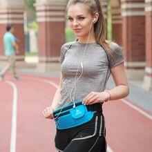1PC Multi-layer Pockets Waist Bag Travel Pocket Adjustable Belt Sports Bag