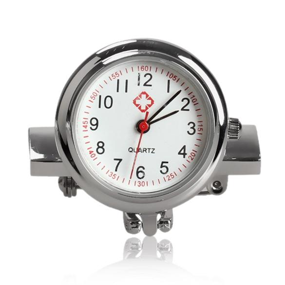 New Fashion Mini Nurse Table Pocket Watch With Clip Brooch Chain Quartz Watches Gifts MV66