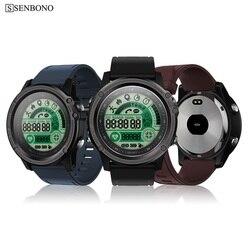 SENBONO S28 Sport tracker Stopwatch IP68 Waterproof Smart Watch Compass Remote Control Call SMS Reminder Heart Rate Smartwatch