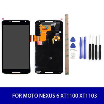 Original Quality For Motorola Moto Nexus 6 XT1100 XT1103 LCD Display + Touch Screen Digitizer Assembly Screen Display
