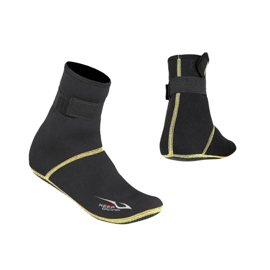 Layatone Water Socks 2.5mm Neoprene Socks Diving Socks Surfing Beach Socks Anti-Slip Swim Fin Socks Shoes Barefoot Watersports Socks Shoes