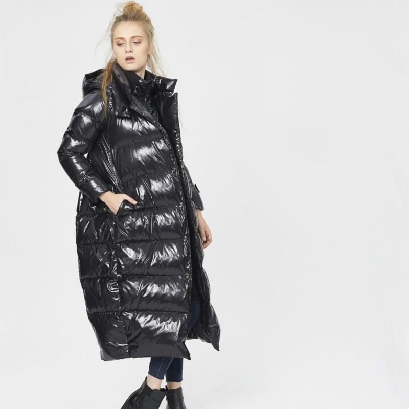 Winter 90% White Duck Down Jacket Women Long Down Parkas Thick Warm Down Coat Female Plus Size 5XL Outwear Jacket LWL1169