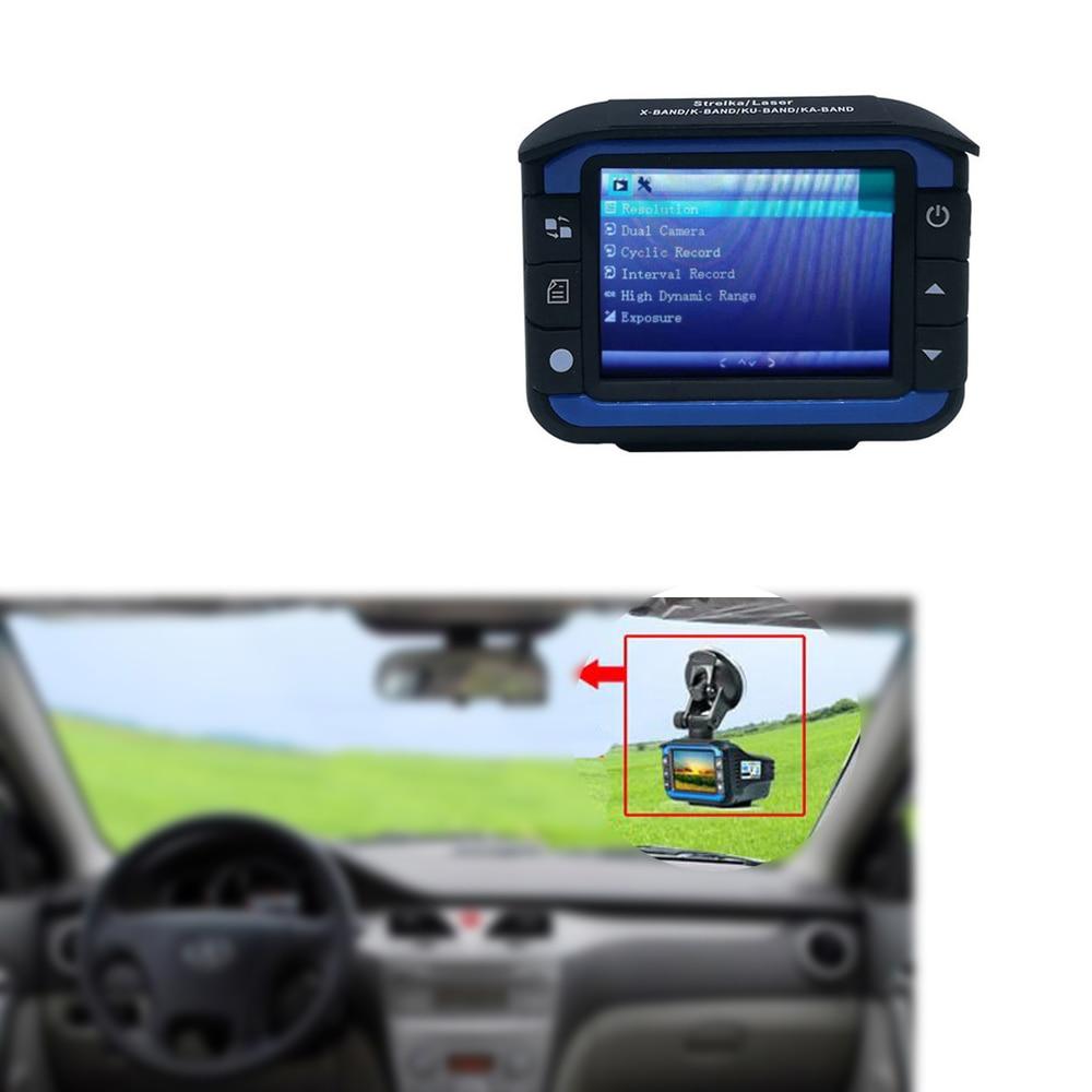 3 en 1 720P voiture Radar détecteurs DVR enregistreur vitesse détecteur russe voix GPS caméra Dash Cam fixe/débit vitesse mesure