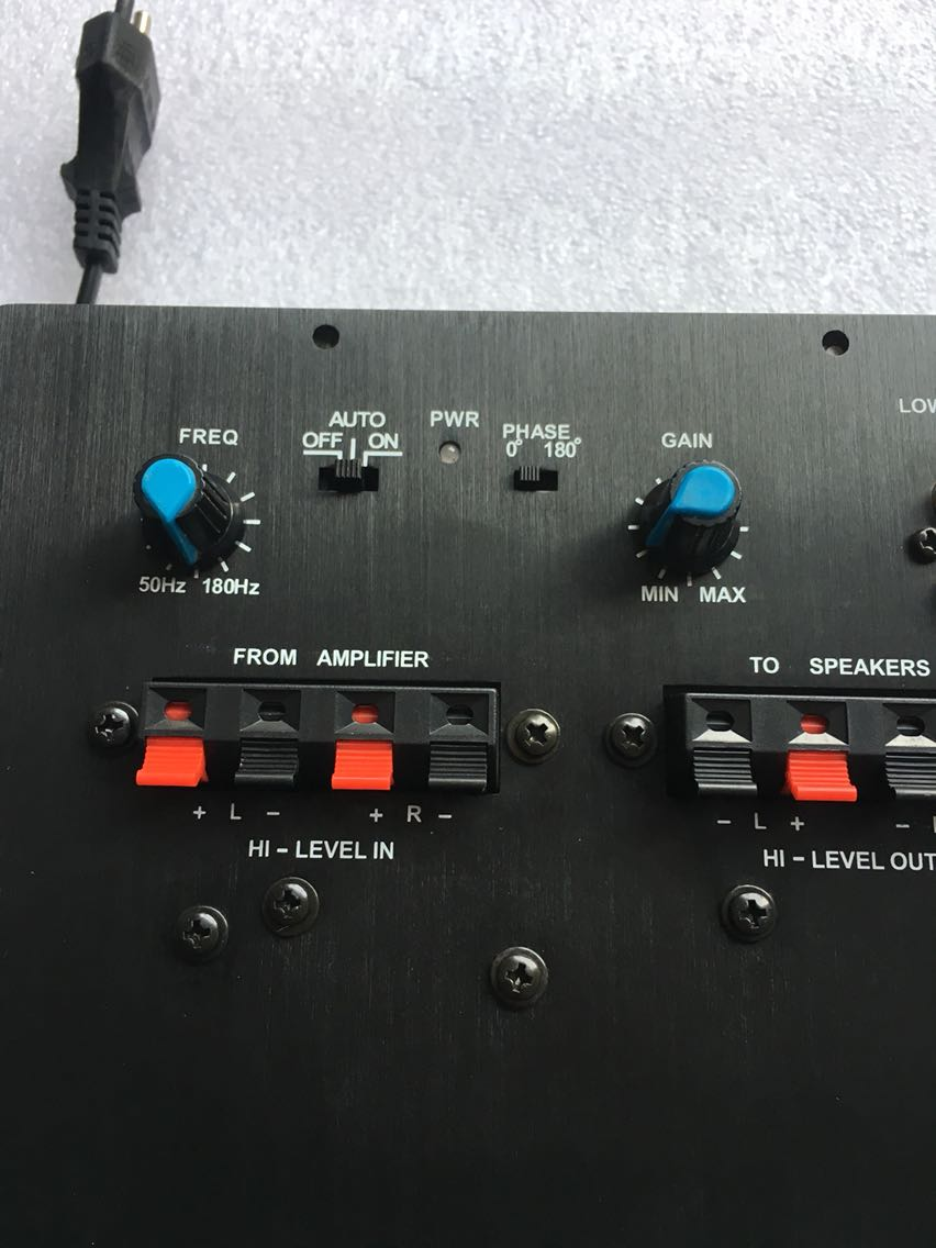 FR Mono Subwoofer Power Amplifier 85W ACTIVE Amplificatore Subwoofer,1.0 Subwoofer Amplifier Board
