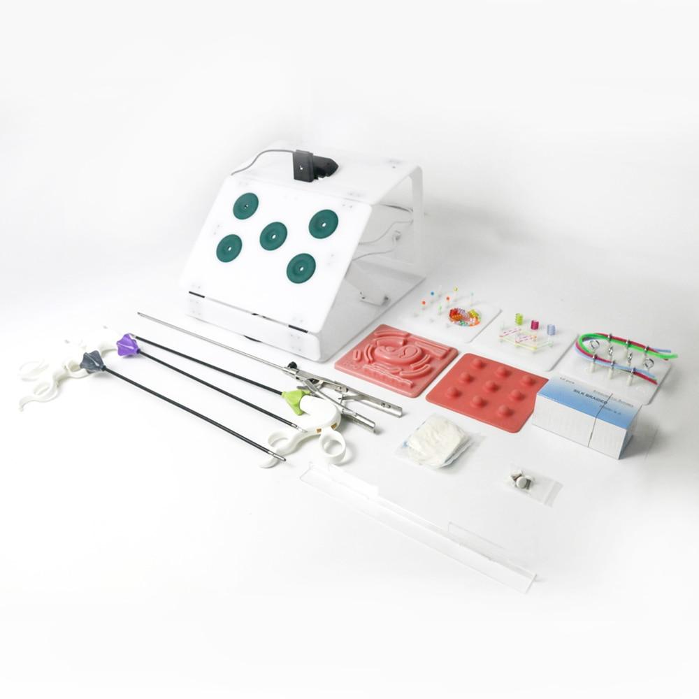 Laparoscopic Surgery Training Box set Student Doctors nurse Simulated Surgical Equipment Teaching Practice Tools 1