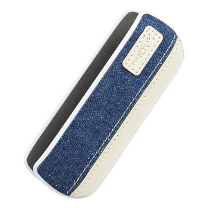 Image 4 - IQOS 3.0 Duo Protective Cases Denim Pressure Leather Splice White Edge Covers For Ecig Accessories