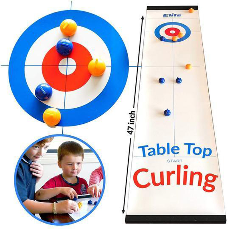 Table-Top Curling Game