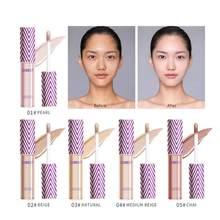 10ml corretivo líquido natural à prova dwaterproof água de longa duração cobertura completa olhos faciais olheiras acne corretivo maquiagem cosméticos tslm2