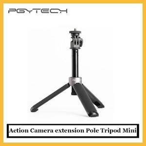 Удлинитель для экшн-камеры PGYTECH, мини-штатив для DJI Osmo, экшн-камеры Gopro hero 9, Insta 360 One X2, под оригинал