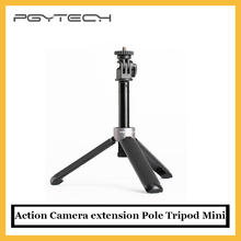 Pgytech アクションカメラ,拡張ポール,ミニDjiアクション,goproヒーロー9 insta 360 1x2,自撮り棒,オリジナル