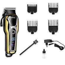 цена на Durable Hair Clipper Professional Hair Trimmer for Men Beard Electric Cutter Hair Cutting Machine Set Razor Rechargeable