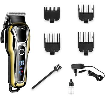 Durable Hair Clipper Professional Hair Trimmer for Men Beard Electric Cutter Hair Cutting Machine Set Razor Rechargeable