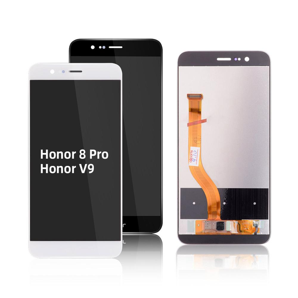 Replace On Digitizer LCD Screen Honra v9 <font><b>Honor</b></font> <font><b>8</b></font> <font><b>Display</b></font> Replacement With Frame <font><b>Original</b></font> For Huawei <font><b>Honor</b></font> <font><b>8</b></font> <font><b>Display</b></font> image