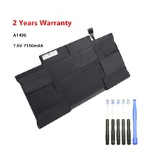 A1496 Laptop Battery for MacBook Air 13 Inch A1466 (Mid 2012 Mid 3013 Early 2014) A1369 (Late 2010 Mid 2011) 7.6V 7150mAh A1377 цена 2017