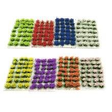 Maqueta de paisaje estático para jardín, césped de juego de guerra, bloques de construcción, diseño de flores, bricolaje, decoración en miniatura, duradero