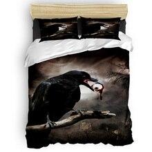 Crow Eye Horror Duvet Cover Set 2/3/4pcs Bedding Set Bed Sheet Pillowcases Cover Set