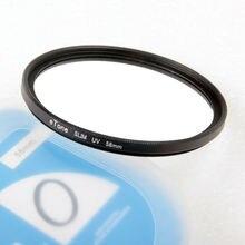 ETone filtro UV ultradelgado de 58mm para Nikon 70 300mm f/4,5 6,3G ED 35mm f/1,8G ED
