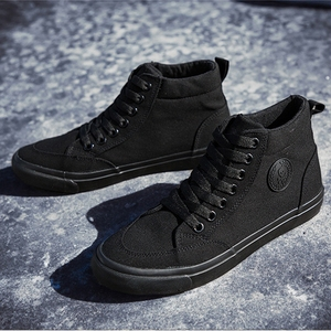 Image 5 - Zapatos de lona para hombre, calzado informal deportivo para exteriores, mocasines planos vulcanizados de alta calidad, moda estudiantil para adultos
