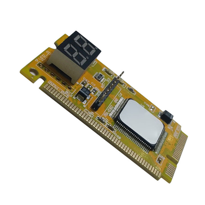 2-Digit Portable Computer PC Mini PCI PCI-E LPC Laptop Analyzer Tester Mother Board Debug Checker Diagnostic Card 3