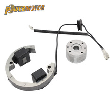 цена на Ignition Coil Stator Flywheel Stator Rotor Ignition Coil Kit Magneto Replacement for KTM50 SX Pro Junior Sr Jr KTM 50 2000-2013