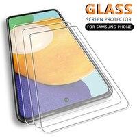 3PCS Screen Protector For Samsung Galaxy A72 A71 A52 A51 A70 A50 A30 A32 5G A20 A10 A90 A12 A50s A30s A10e A20e Tempered Glass
