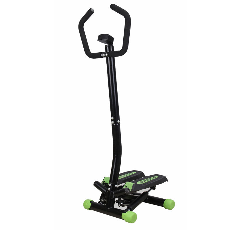 Treadmills Household Mini Stepper Climbing Machine Home Fitness Equipment With Rod With Armrests And Down Around Treadmills