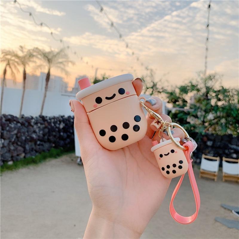 Boba Bubble Tea Keychain AirPod Case  1
