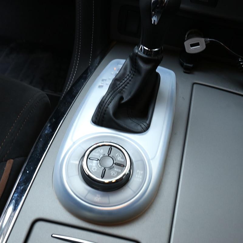 Soft Rubber Interior Dustproof Gear Box Cover For Nissan Patrol Y62 Armada 2011+