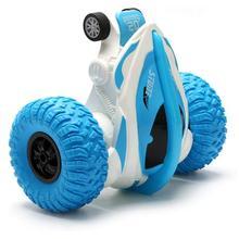 Автомобиль с дистанционным управлением, перезаряжаемый, 90 стоячий, 360 вращение, трюковый автомобиль, высокоскоростная поворотная Радиоуправляемая машина, игрушечный светильник для детей