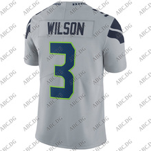 Jersey Wilson Vapor Seattle Youth Kid Gray Limited-Player Untouchable Russell Men Women