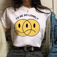 Модная футболка Гарри Стайл женская с тонкой линией tpwk топы